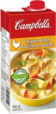 CAMPBELL'S BROTH 480 - 900 ml or CHUNKY SOUP 540 ml.