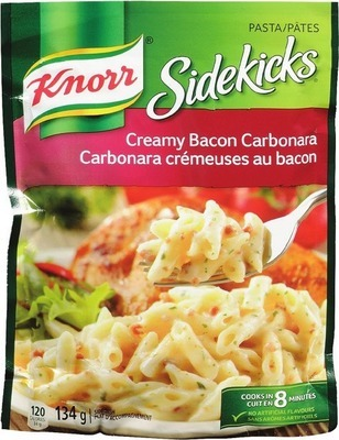 KNORR SIDEKICKS, KRAFT DINNER OR UNCLE BEN'S FAST & FANCY INSTANT RICE