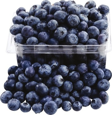 BLUEBERRIES PINT PRODUCT OF CHILE OR PERU, No. 1 GRADE LEMONS 2 lb PRODUCT OF SPAIN OR TURKEY