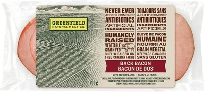GREENFIELD BACK BACON