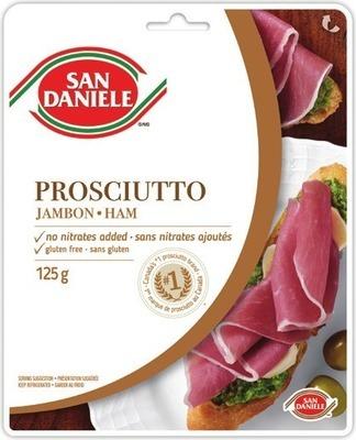 SAN DANIELE SLICED PROSCIUTTO OR SPECK HAM