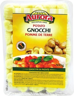 AURORA GNOCCHI OR DICED TOMATOES
