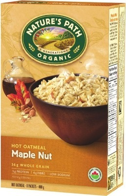 NATURE'S PATH MAPLE OATMEAL