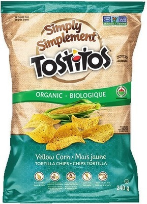 TOSTITOS ORGANIC CHIPS