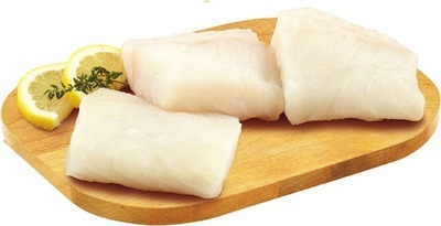 FRESH ATLANTIC SALMON PORTIONS SKIN ON OR ICELANDIC COD PORTIONS 113 g OR ROCK LOBSTER TAIL 2 OZ