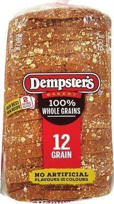 "DEMPSTER'S WHOLE GRAIN BREADS, BAGELS, 7"" TORTILLAS OR HOT DOG OR HAMBURGER BUNS"