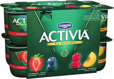 DANONE ACTIVIA OR OÏKOS GREEK YOGURT