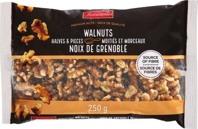 IRRESISTIBLES WALNUT HALVES AND PIECES OR WHOLE NATURAL ALMONDS