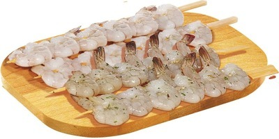 PACIFIC WHITE RAW SHRIMP SKEWER