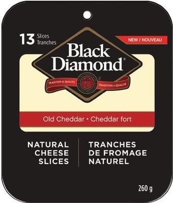 BLACK DIAMOND SLICED CHEESE