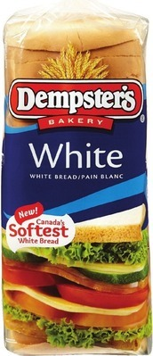 DEMPSTER'S WHITE OR 100% WHOLE WHEAT BREAD, VILLAGGIO BREAD OR BUNS OR DEMPSTER'S RYE BREAD