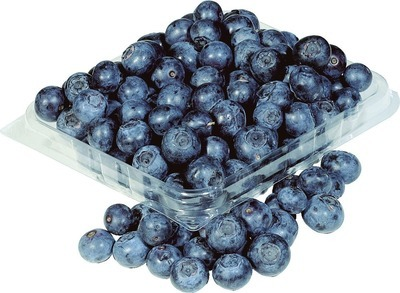 BLUEBERRIES 170 g PRODUCT OF CHILE OR PERU, No. 1 GRADE, RASPBERRIES 170 g PRODUCT OF MEXICO, No. 1 GRADE