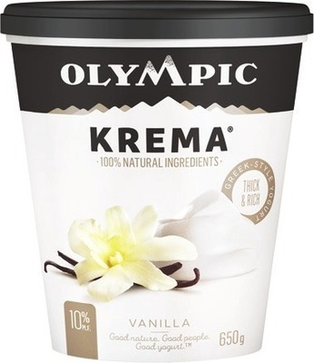 OLYMPIC KREMA OR ORGANIC YOGURT