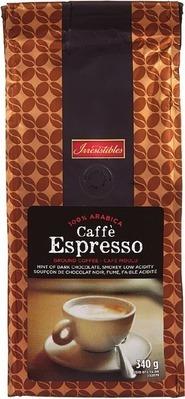 IRRESISTIBLES ESPRESSO GROUND COFFEE