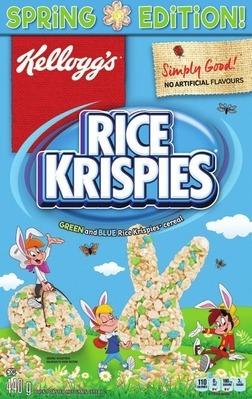 KELLOGG'S RICE KRISPIES SPRING EDITION
