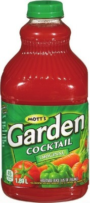 GARDEN VEGETABLE COCKTAIL 1.89 L OR WELCH'S GRAPE JUICE 1.36 L