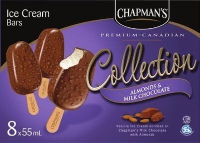 CHAPMAN'S ICE CREAM OR NOVELTIES