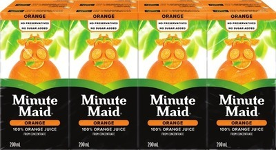 MINUTE MAID OR FIVE ALIVE DRINKS