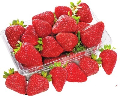 STRAWBERRIES 454 G PRODUCT OF U.S.A., NO. 1 GRADE RASPBERRIES 170 G PRODUCT OF MEXICO BLACKBERRIES 170 G PRODUCT OF MEXICO