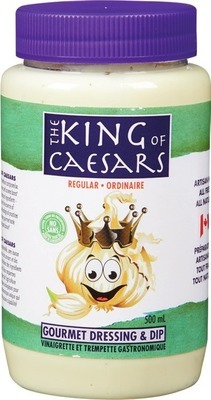 THE KING OF CAESARS DRESSINGS