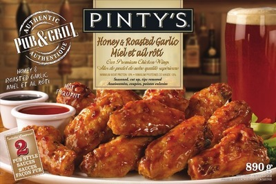 PINTY'S CHICKEN WINGS OR BREADED CHICKEN