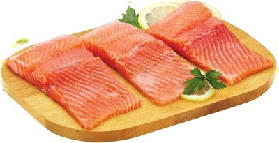 FRESH SKINLESS ONTARIO RAINBOW TROUT PORTIONS