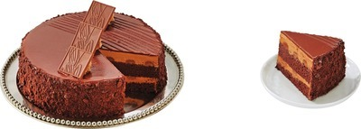 FRONT STREET BAKERY SWISS MILK CHOCOLATE TRUFFLE CAKE
