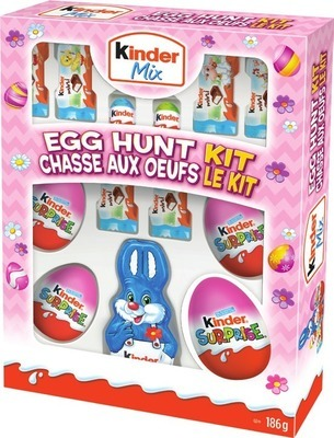 FERRERO KINDER MIX EGG HUNT KIT