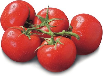 EXTRA LARGE BEEFSTEAK TOMATOES PRODUCT OF ONTARIO TOMATOES ON THE VINE PRODUCT OF ONTARIO