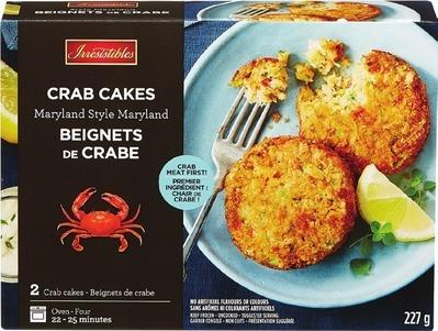IRRESISTIBLES CRAB CAKES