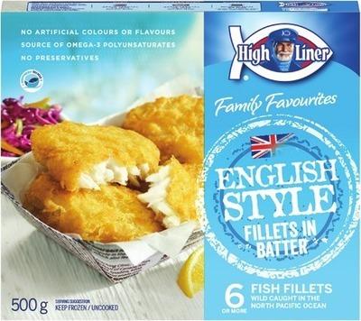 HIGH LINER FAMILY PACKS OR FISH STICKS