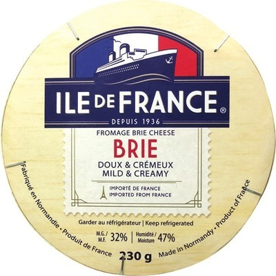 ILE DE FRANCE BRIE, CAMEMBERT, LE RUSTIQUE, AGROPUR IMPORT COLLECTION STILTON, MANCHEGO, SAINT AGUR, CAMBOZOLA OR LIMBURGER CHEESE