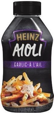 KRAFT SALAD DRESSING, HEINZ AIOLI SAUCE OR BULL'S-EYE BBQ SAUCE