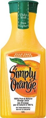 SIMPLY REFRIGERATED JUICE OR DRINKS