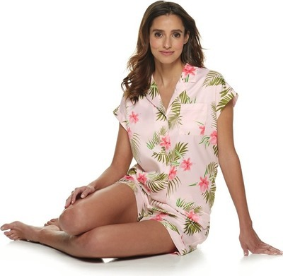 62c2611a8ce Apt. 9® knit dolman notched-collar pajama set for women - Flipp