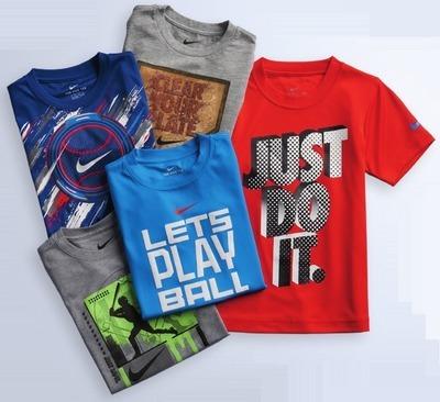 ce131ada Nike Tees for Boys 4-7 - Flipp