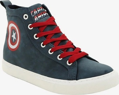 8a634efba7c Marvel Captain America Hi-Top Sneakers - Flipp