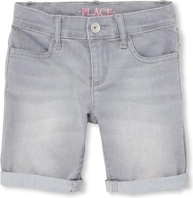 c23dd851e86a Girls Roll Cuff Denim Skimmer Shorts - Flipp
