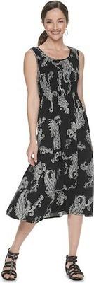 335a138f1ca Women s Croft   Barrow® Print Challis Midi Dress - Flipp