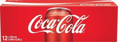 COCA-COLA OR PEPSI SOFT DRINKS 12 X 355 ML, 6 X 710 ML OR GATORADE 6 X 591 ML OR AQUAFINA 6 X 710 ML OR LA CROIX 8 X 355 ML