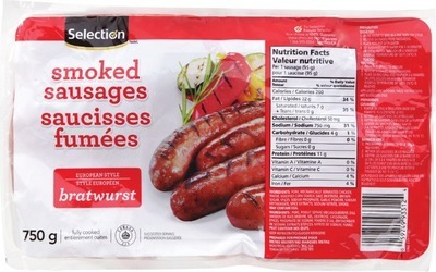SELECTION SMOKED SAUSAGES