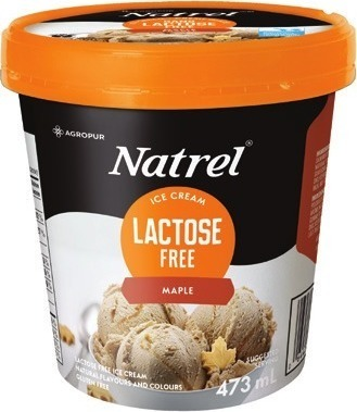NATREL LACTOSE FREE CREAM 473 ML ‑ 1 L, BUTTER 250 G, SALTED OR ICE CREAM 473 ML