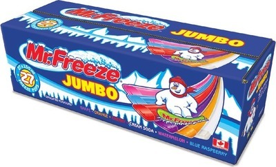 MR. FREEZE JUMBO FREEZER POPS