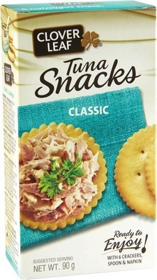 CLOVER LEAF YELLOW FIN TUNA OR SNACK KITS