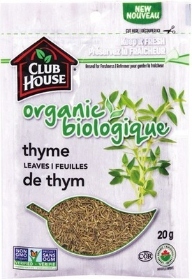 CLUB HOUSE ORGANIC SPICE BAG