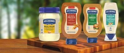 HELLMANN'S SAUCE OR MAYONNAISE