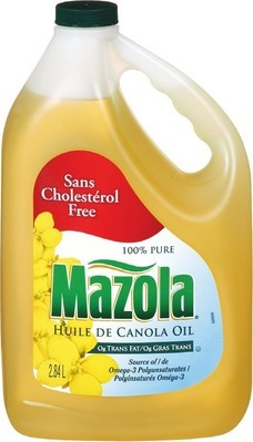 MAZOLA CANOLA OR CORN OIL