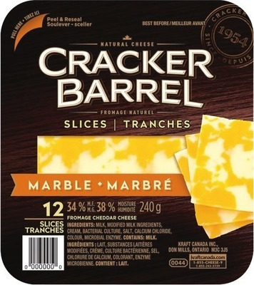 CRACKER BARREL CHEESE SLICES, SNACKS OR FETA