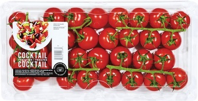 COCKTAIL TOMATOES 907 G, PRODUCT OF ONTARIO MINI CUCUMBERS 908 G, PRODUCT OF ONTARIO, CANADA NO. 1 GRADE THE LITTLE POTATO COMPANY FRESH CREAMER POTATOES 680 G PRODUCT OF CANADA