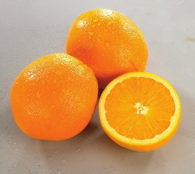 SEEDLESS NAVEL ORANGES PRODUCT OF SPAIN BOSC PEARS PRODUCT OF SOUTH AFRICA, EXTRA FANCY GRADE 3.95/KG